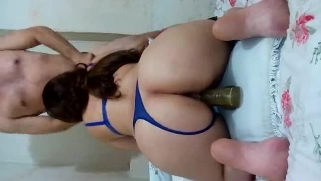 Mulher Rabuda Pagando Boquete Amador